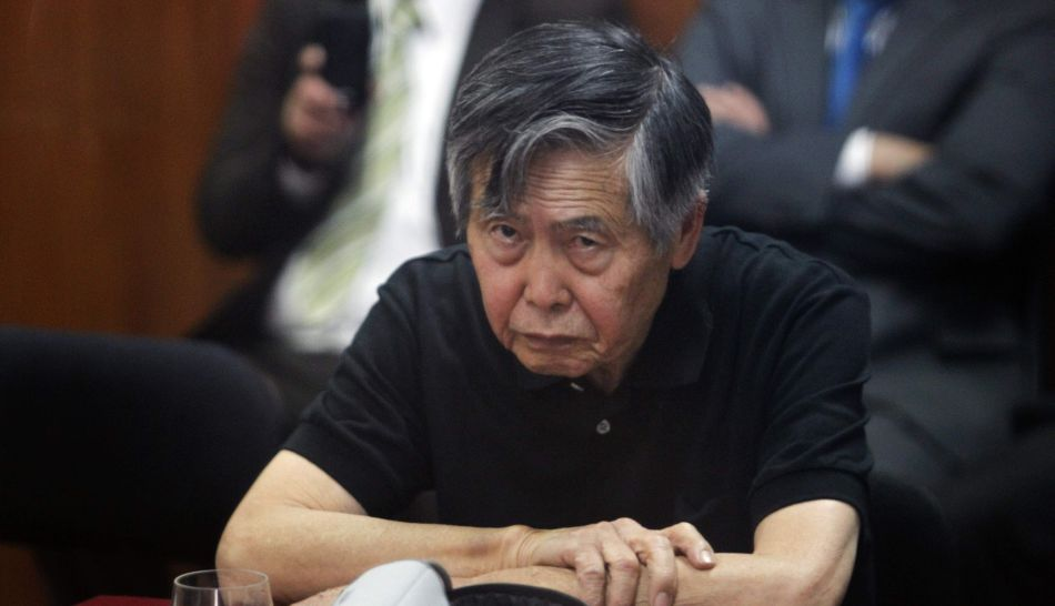 Peru's former President Alberto Fujimori appeals to serve the remains of his sentence under house arrest, at Supreme Court of Justice in Lima