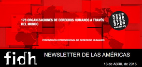 NEWSLETTER FIDH